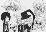 Chibi Black Butler Fan Art
