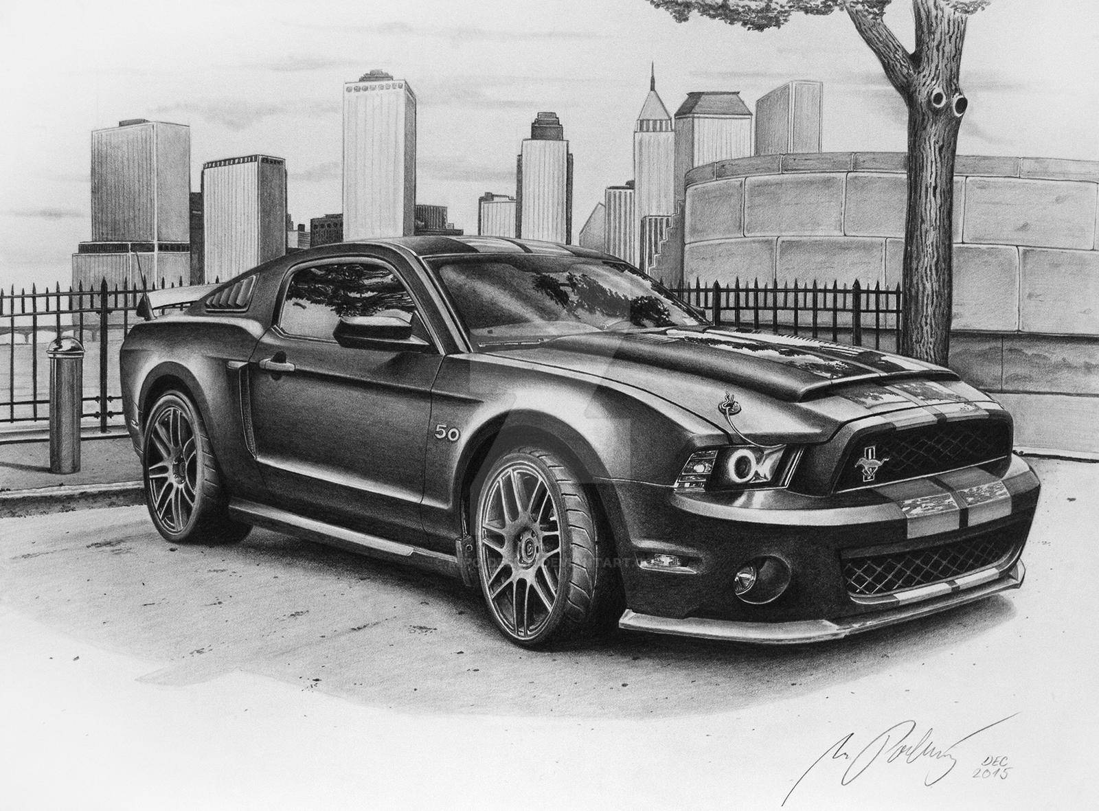 Realistic Automotive illustrations | SVTPerformance.com