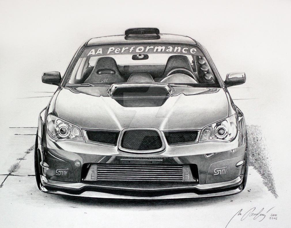 Subaru Car Drawings - NASIOC