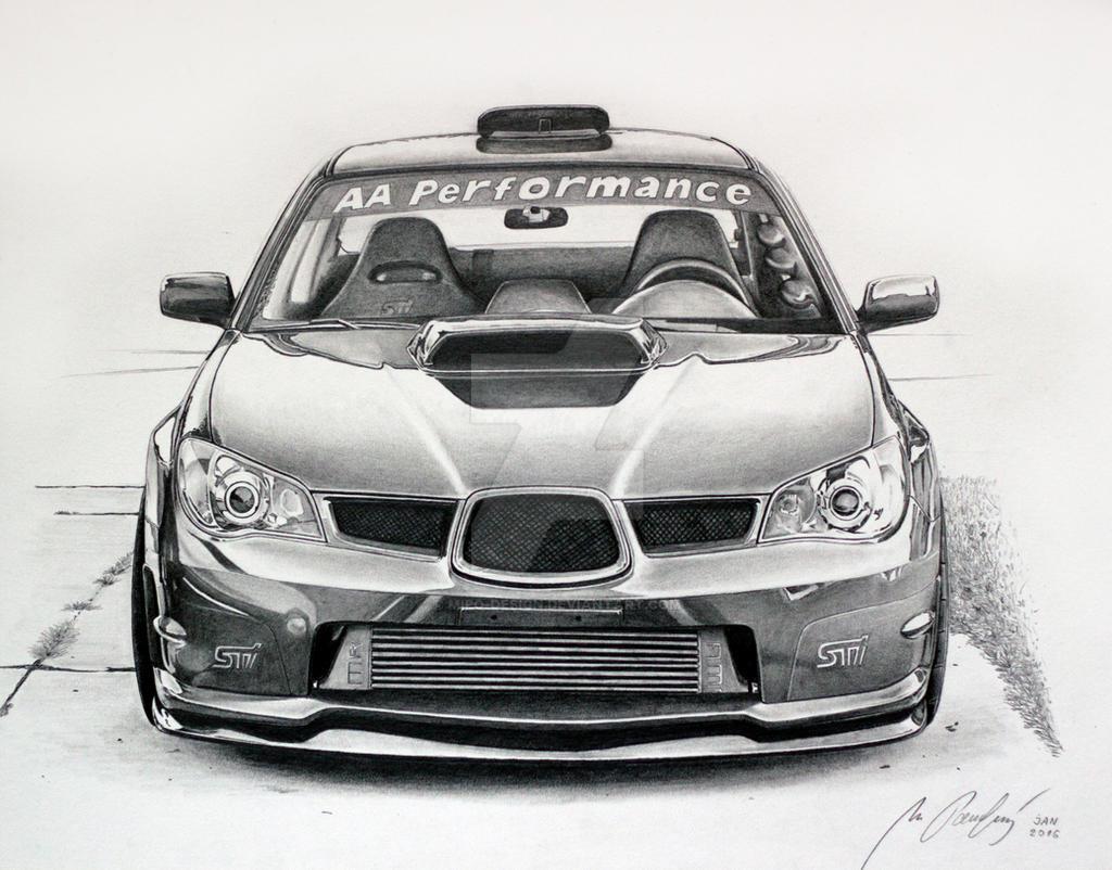 SUbaru Impreza WRX STI by Mipo-Design