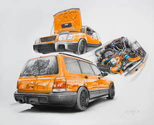 Subaru Forester GT 1999 by Mipo-Design