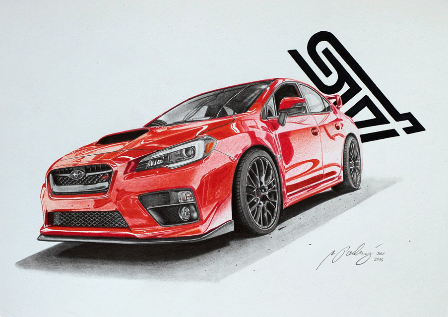 SUBARU WRX STI 2015 by Mipo-Design on DeviantArt