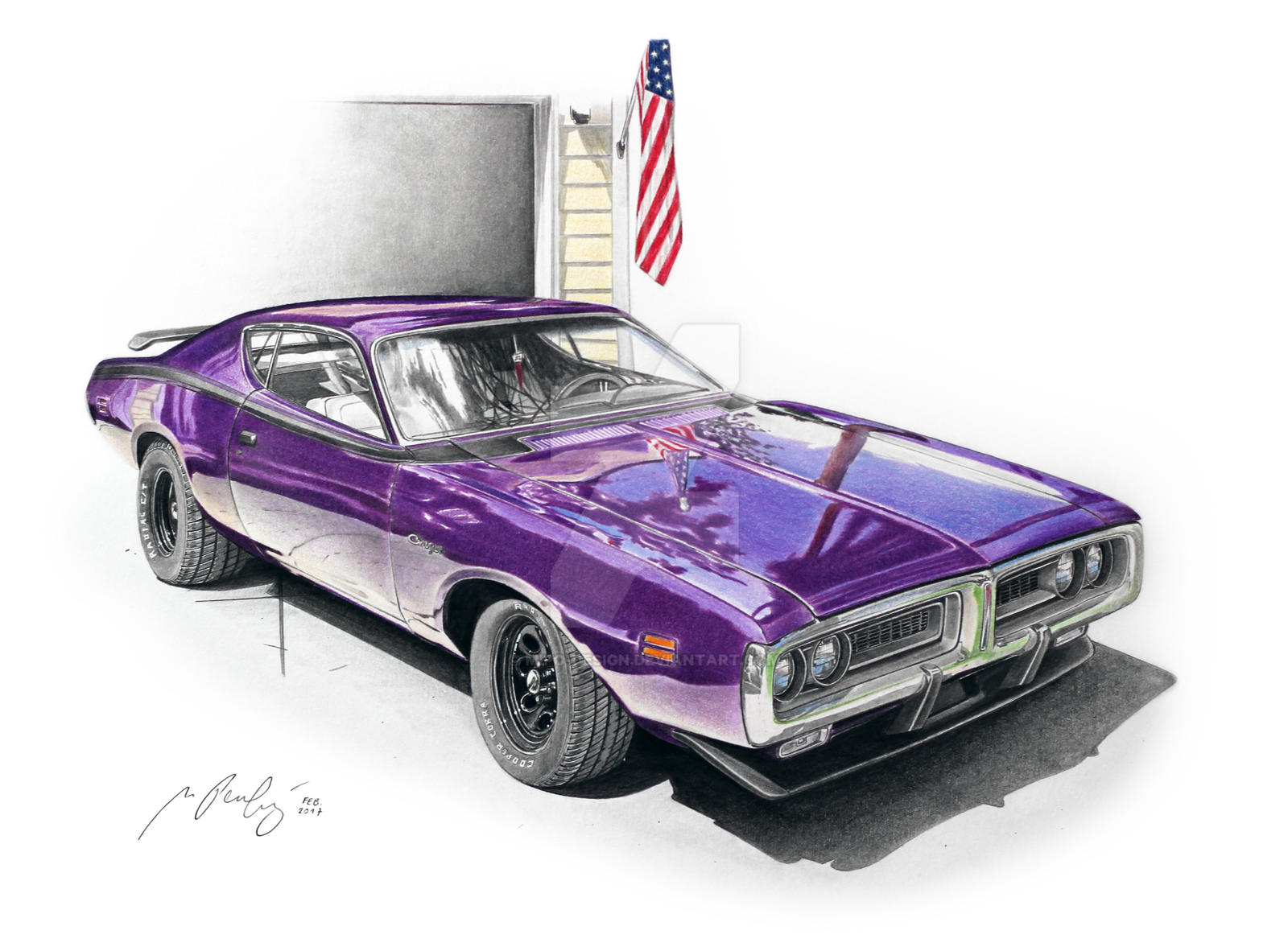 Realistic Car Drawings - LS1TECH - Camaro and Firebird Forum Discussion