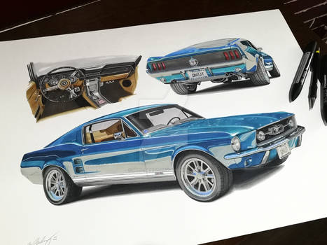 Ford Mustang 1967 fastback