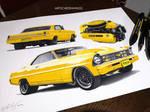 Chevy nova yellow