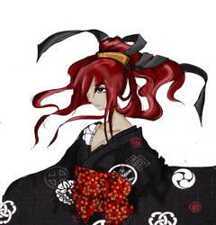 Dark kimono by Salvare892