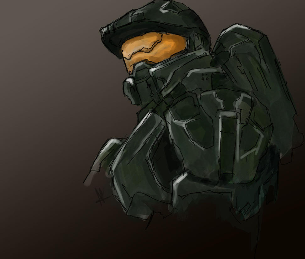 Master Chief by Salvare892