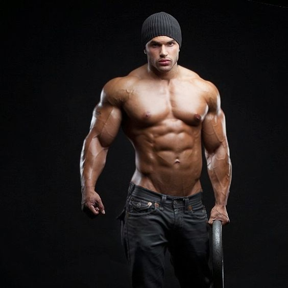 Raciel Morph Muscle Bodybuilder By ScottFrederick On