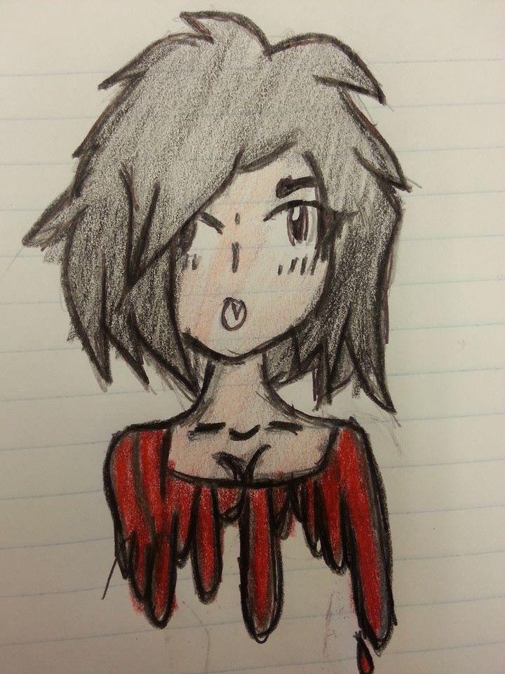 Anime girl doodle. by ChuuiHawkeye