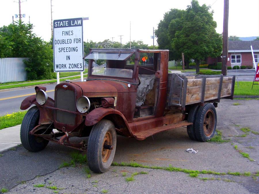 Old Truck9 by rem-severem