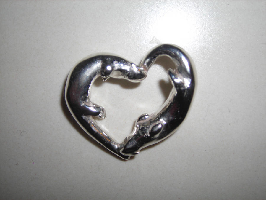 Otter heart by azrael133 on deviantart otter heart by azrael133 aloadofball Images