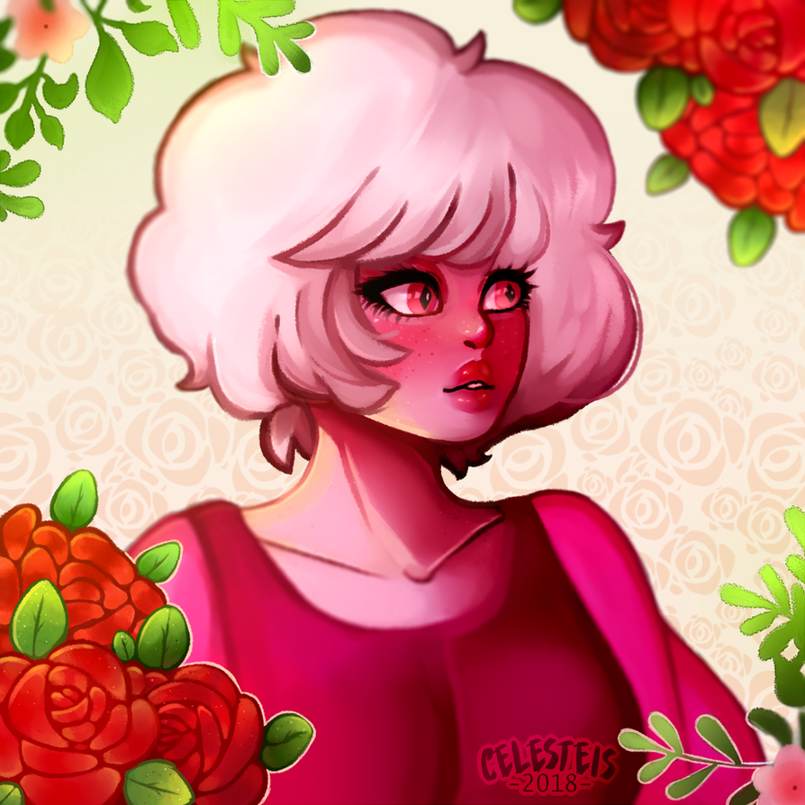 Steven Universe!Serie. Idk how long I resisted drawing to Pink Diamond, but here she is at last! I love this drawing technique, I should put it more into practice 0w0. Steven uni...