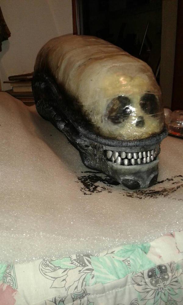 xenomorph head ended by BiXoLoCoO616