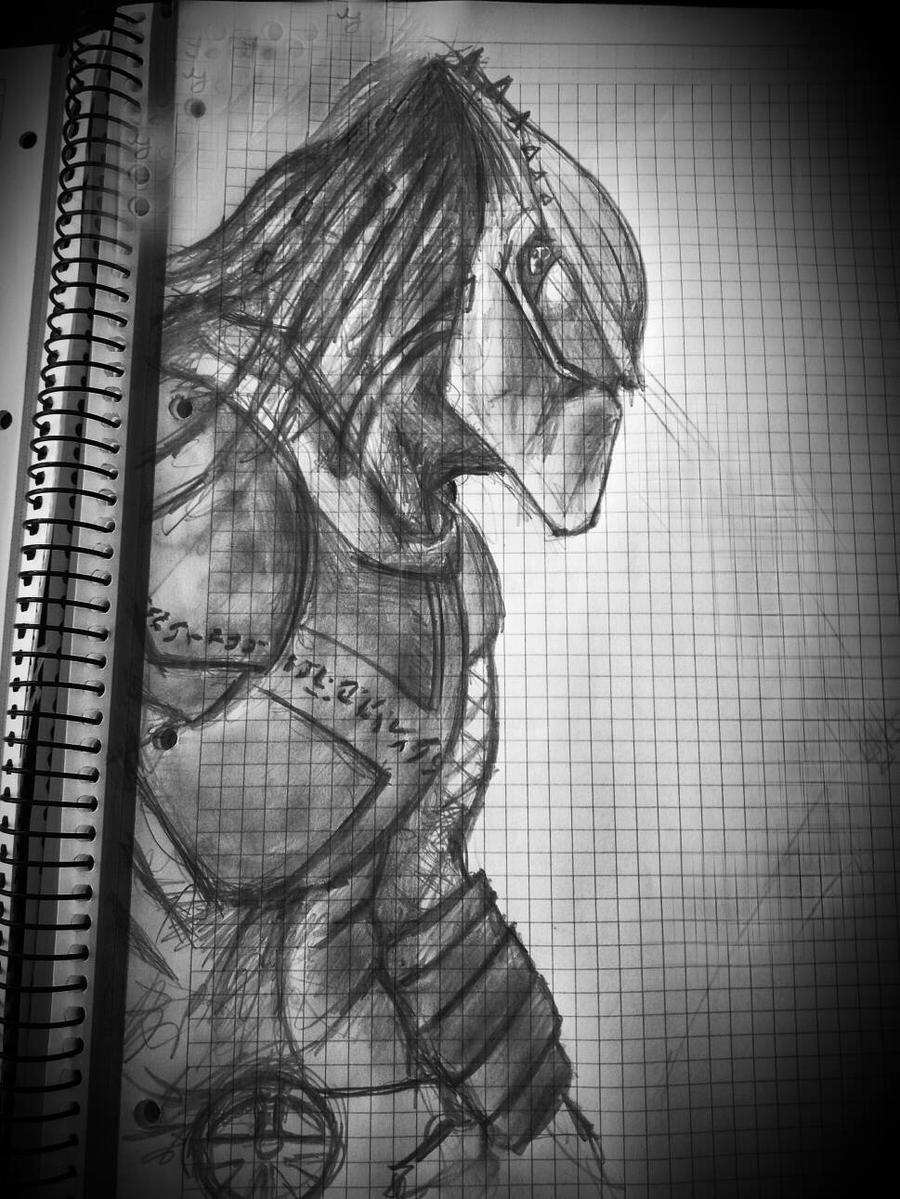 Predator, fast sketch