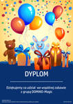 Diploma / Dyplom for ilusionist