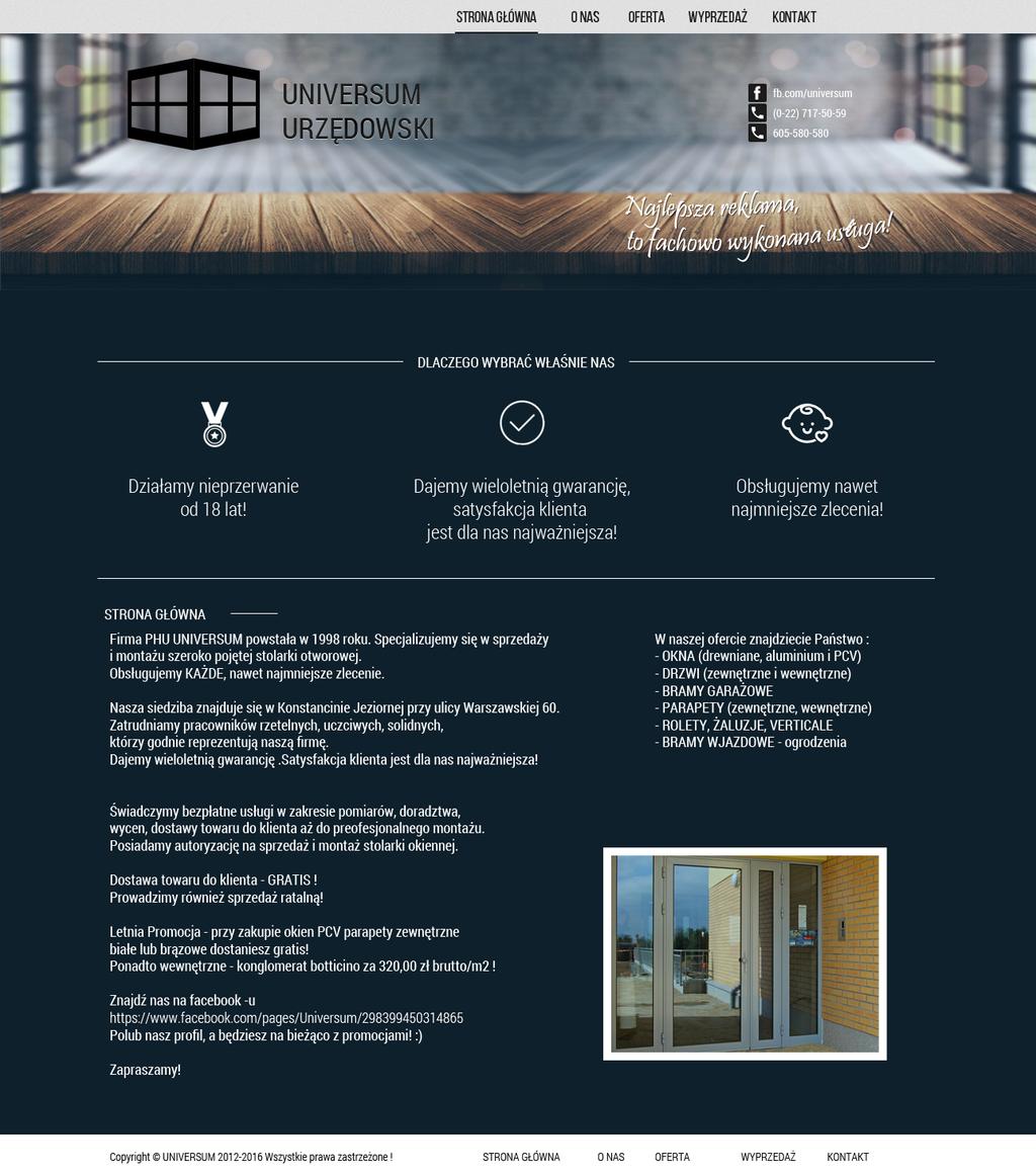 Universum Urzedowski - windows by miguslaw