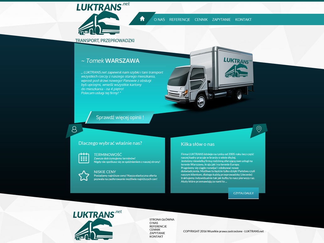 Luktrans.net - logistic and transport 2 by miguslaw