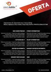 Fiber networks LEAFLET page 2 by miguslaw