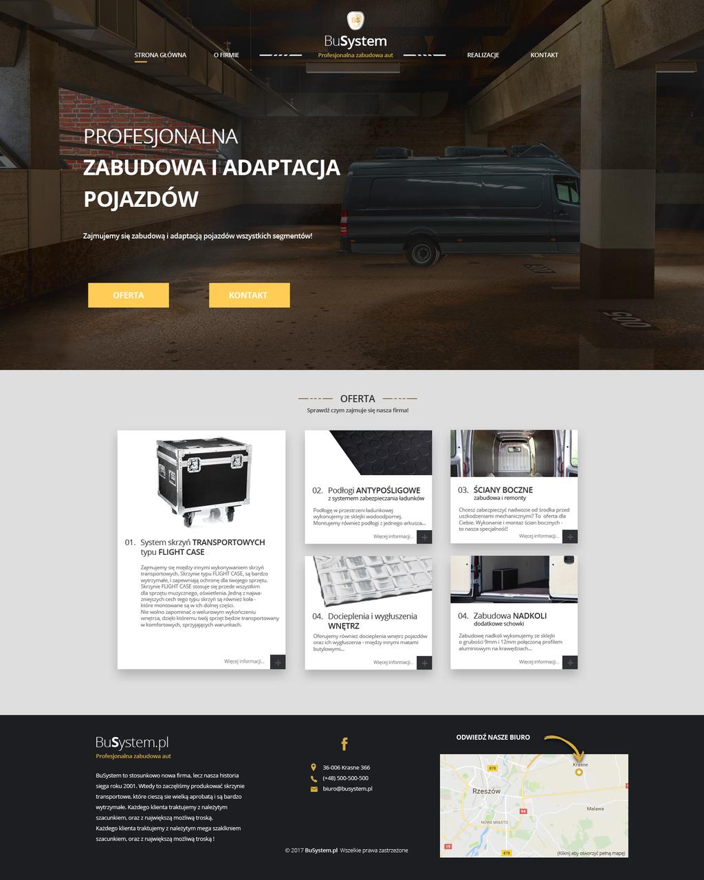 Busystem.pl - cars adaptation by miguslaw