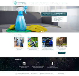 OsmoBlysk.pl - Cleaning services by miguslaw