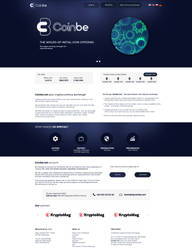 Cryptocurrency page by miguslaw