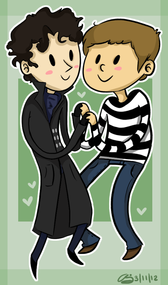 johnlock by loneyqua