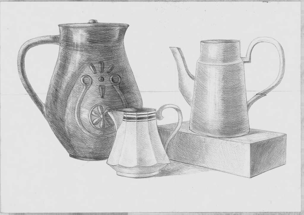 Simple Still Life drawing by MKKitanafan on DeviantArt
