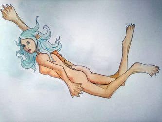 Naiad the Fish Girl Commission by Ivas-Art-Adventures