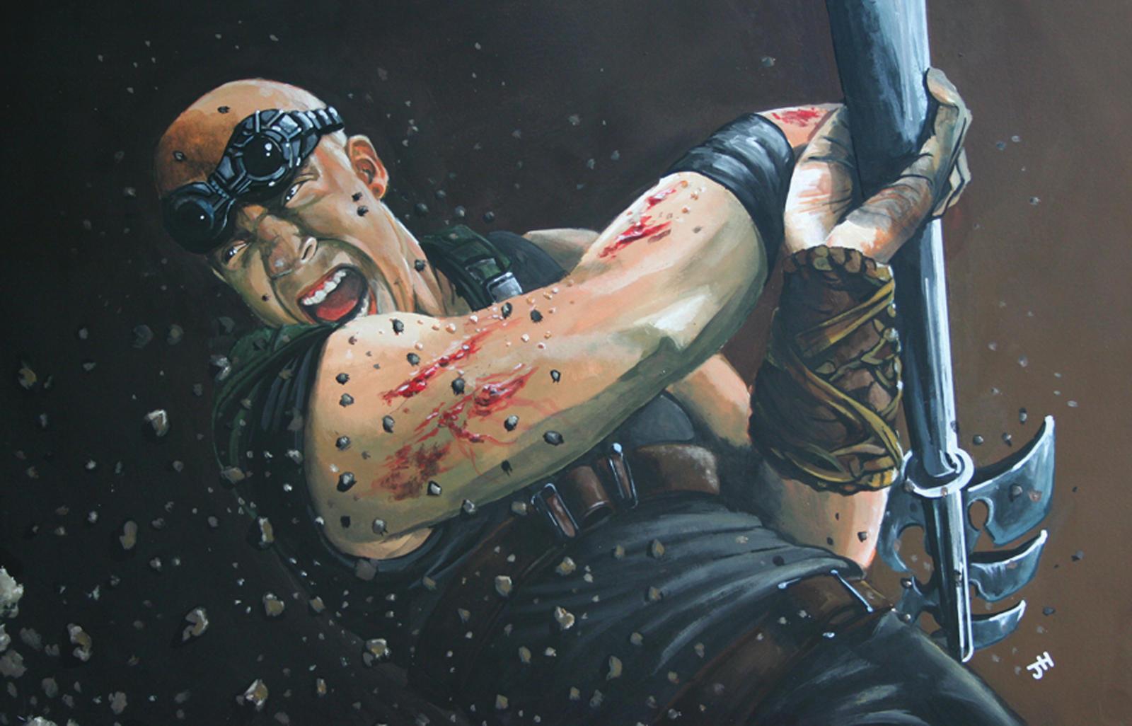 Riddick by JackHoyle