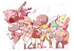 Pokeschool girls