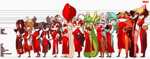 Xingzuo Girls Height Comparison