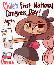 Chile's First National Congress Day