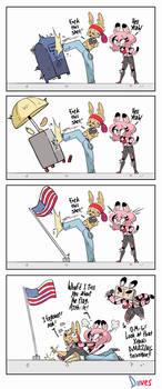 14. Comic - Flag