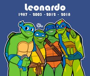 tmnt 2003 leonardo deviantart