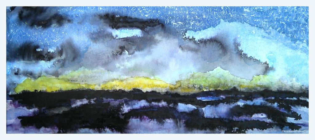Notte stellata by federicoparlato on deviantart for La notte stellata