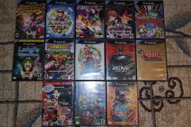 My GameCube Games!