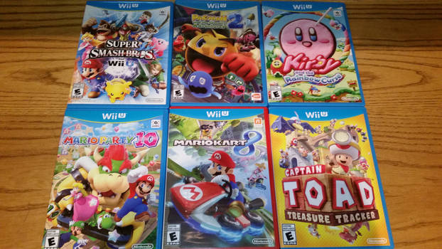 my Wii U Games 2