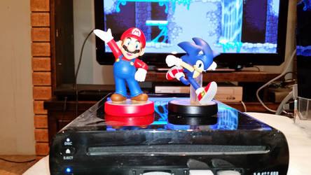 Mario and Sonic Amiibo