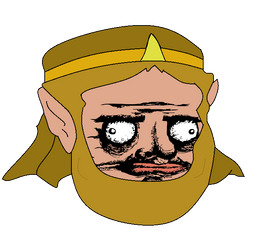 Face King Confus by Kidpaddleetcie