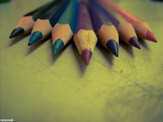 pencils by lidlshmidl