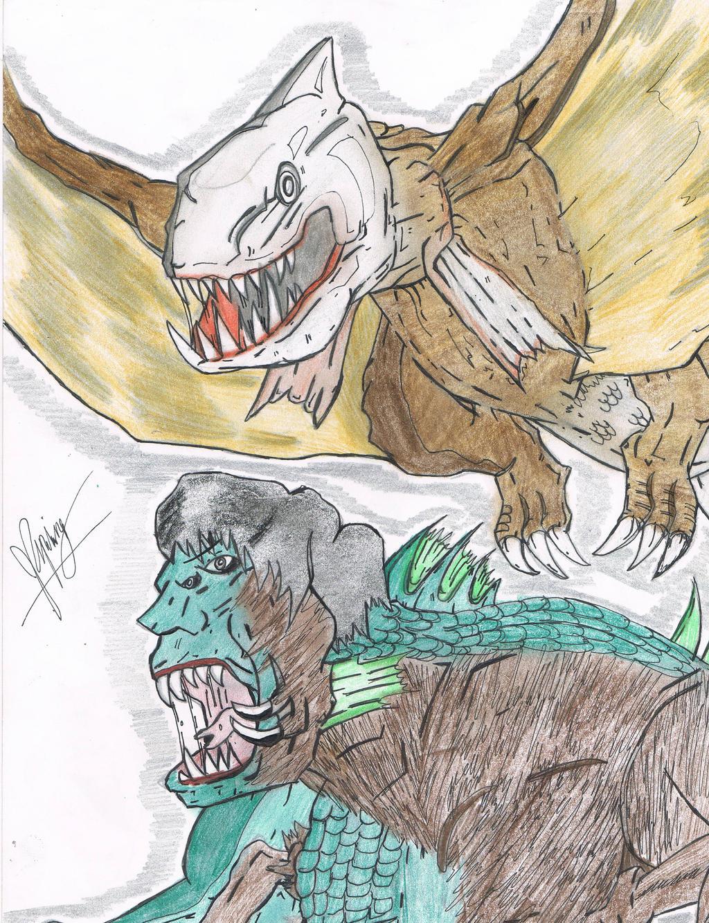 Sharktopus Contenders by AVGK04 on DeviantArt