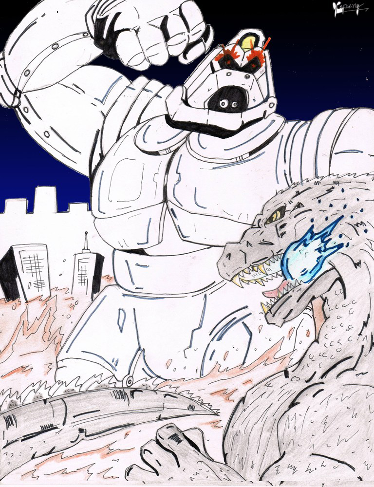 Lost Project: Godzilla vs Mechanikong by AVGK04