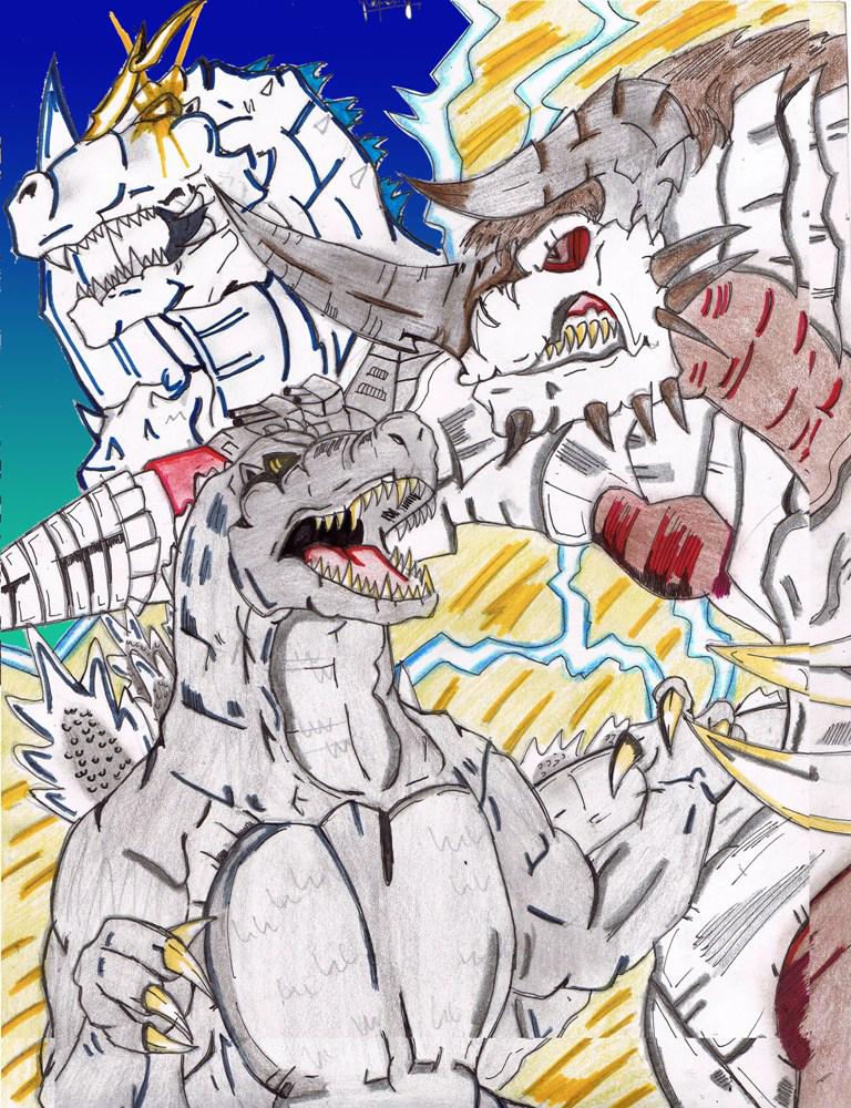 Lost Project: Godzilla vs Bagan by AVGK04