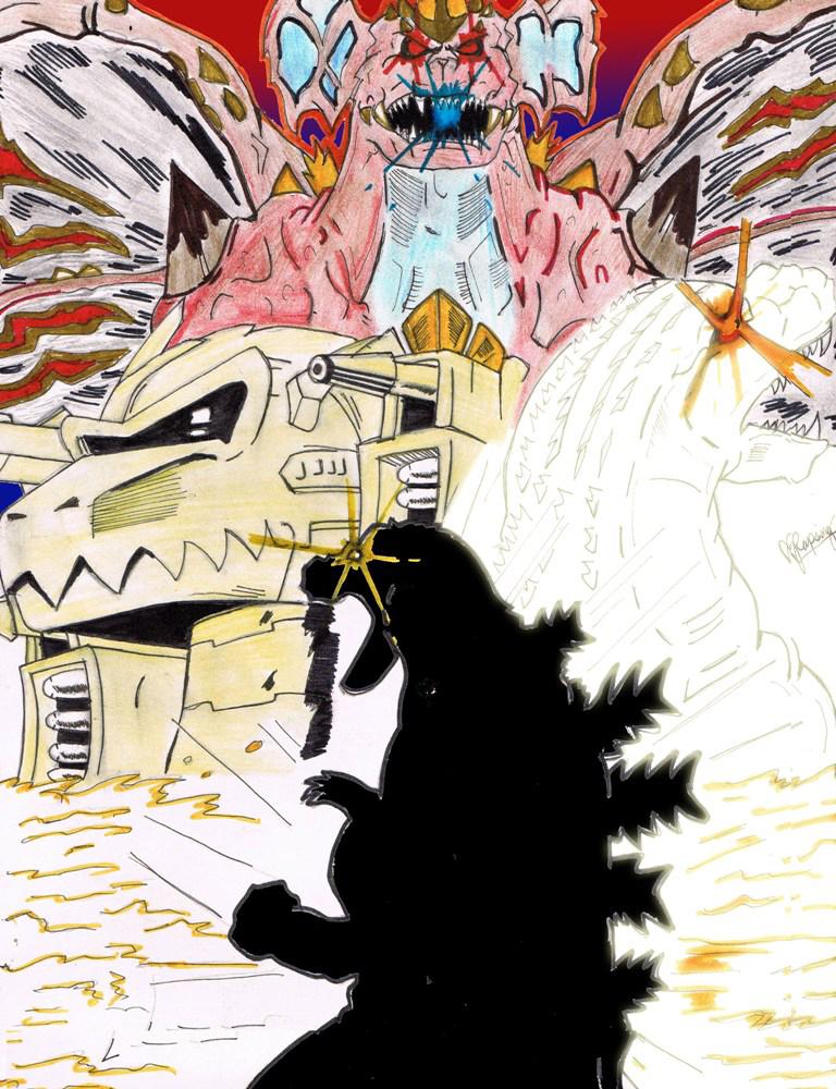 Lost Project: Godzilla vs BioGodzilla by AVGK04