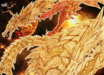 Ghidorah: The God Of Void by AVGK04