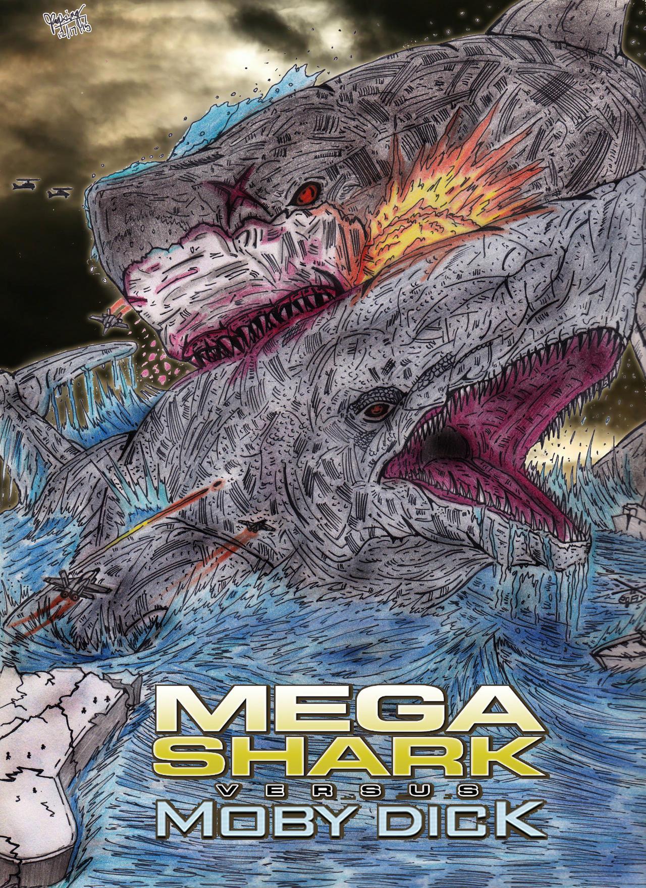 Mega Shark Vs. Moby Dick (Concept Poster) by AVGK04 on ...