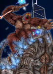 Godzilla Vs Kong: Ancient Struggle (Night Ver.)