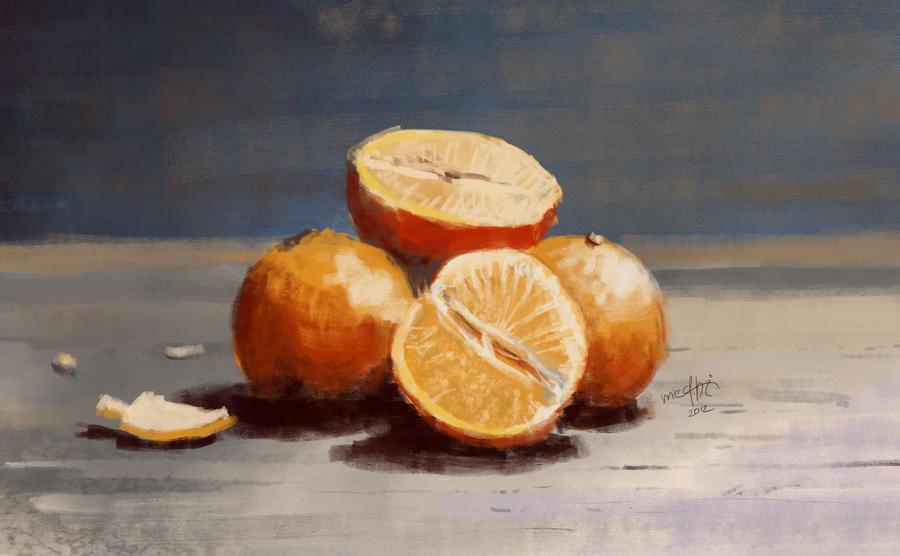 Oranges by Medhi