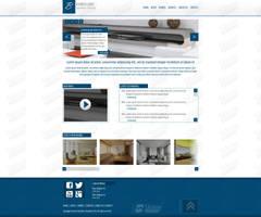 Minimalist WordPress Business design by SkinnyDesigns