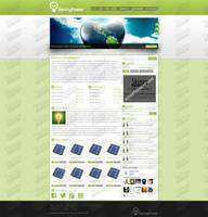 SavingPower's webdesign by SkinnyDesigns